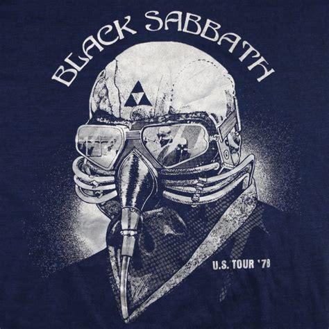 black sabbath die black sabbath never say die tour shirt 1978 wyco vintage