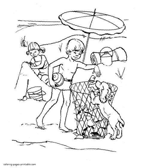 clean earth coloring pages keep the beach clean coloring page