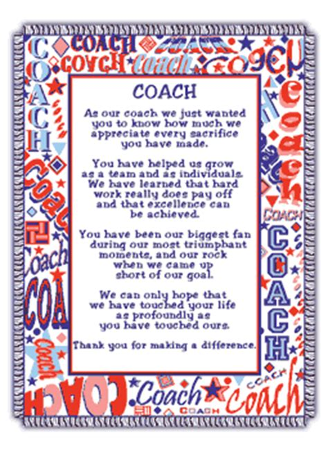 thank you letter to parents from soccer coach hu0433 coach poem