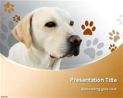 Free Dogs Powerpoint Templates Free Animal Powerpoint Templates