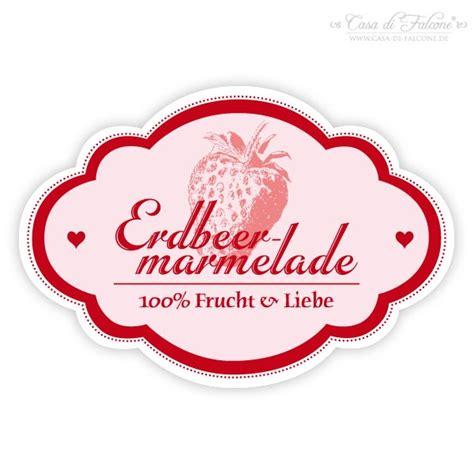 Nostalgische Aufkleber Marmelade by Aufkleber Nostalgie Erdbeere Casa Di Falcone