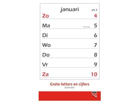 Calendar 2018 Uw Kalender 2018 Met Grote Letters En Cijfers Quantore