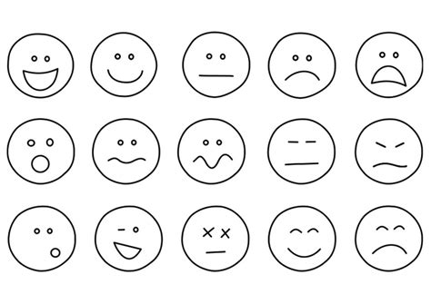 coloring pages emotions facial expressions kleurplaat emoties afb 21994