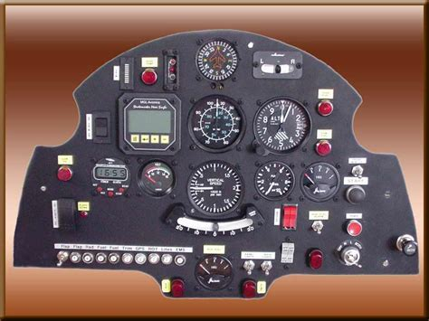 aircraft instrument panel lighting instrument panel