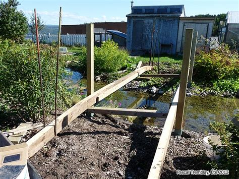 footbridge plans how to build pond bridge plan arched stream bridge