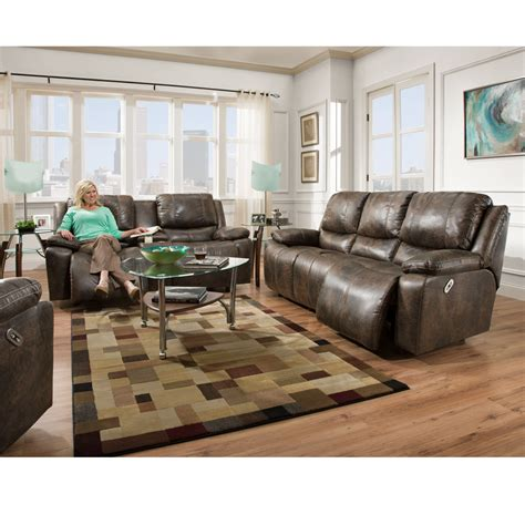 Franklin Furniture by 745 Montana Faux Leather Collection Power Standard