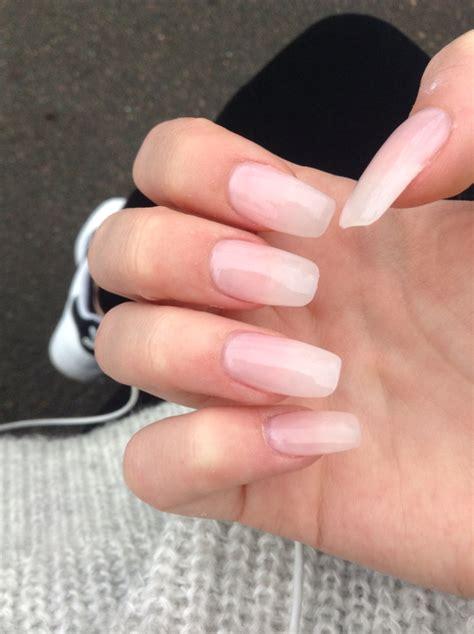 Clear Nail by Clear Acrylic Ballerina Nails Nails