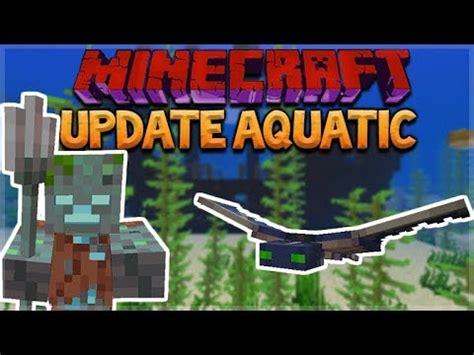aquatic update minecraft 1.13 survival island! turtle