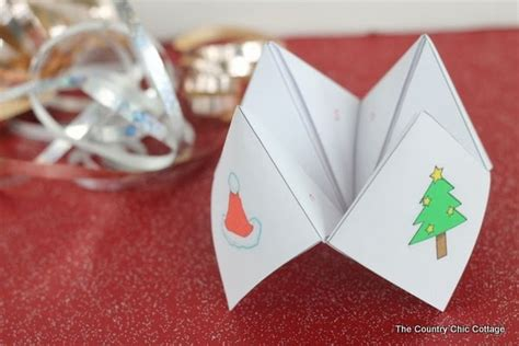 All Free Paper Crafts - free printable cootie catcher