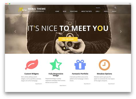 design free online website free responsive flat design wordpress themes for