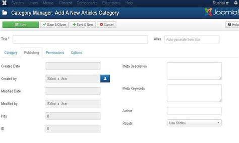 joomla tutorial point joomla category management