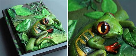 3d Clay Painting Animal Madagaskar book covers by latvian artist come alive with