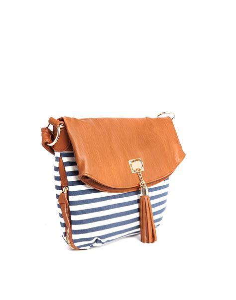 Wst 18980 Blue Stripe Shoulder Top 1 aldo duplin shoulder bag in stripe in blue lyst