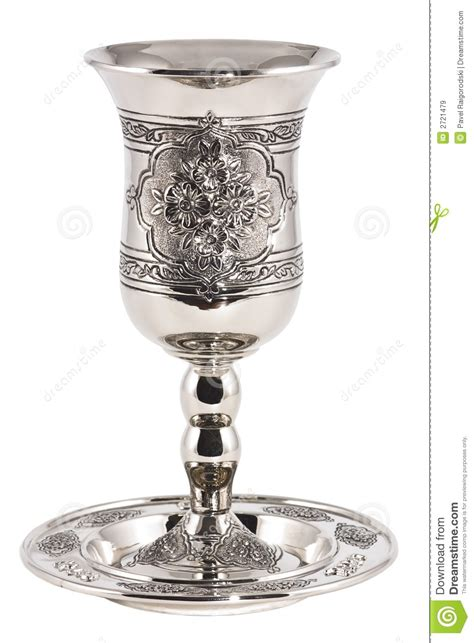 kiddish cup  wine royalty  stock images image
