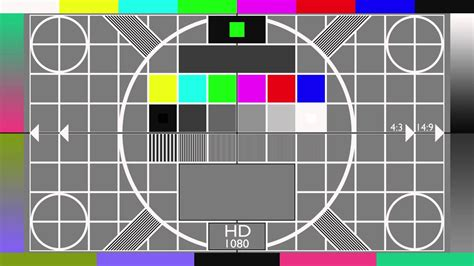 test pattern cards 1080 test card youtube