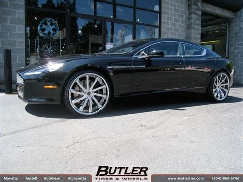 aston martin rapide   savini svc wheels exclusively  butler tires  wheels