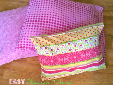pillowcase pattern pinterest easy pillowcase tutorial practical stewardship