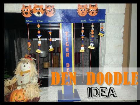 den doodle ideas den doodle idea cub scouts