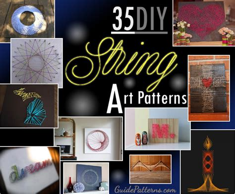 Colors For Livingroom 35 Diy String Art Patterns Guide Patterns