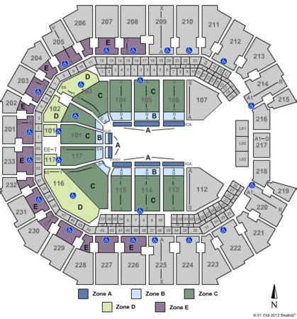 time warner seating chart time warner cable arena tickets in