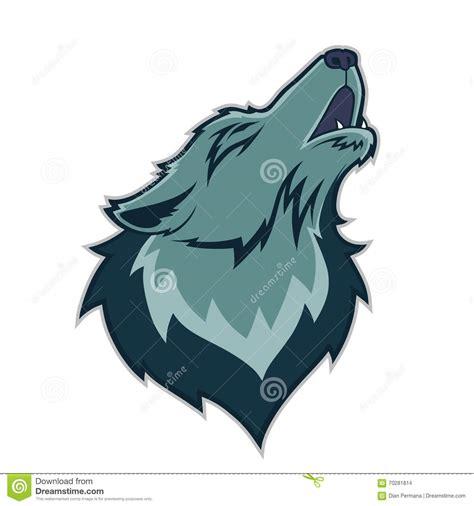 Wolf Mascot Clipart wolf mascot stock vector image 70281814