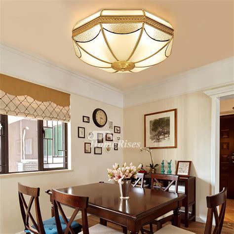 ceiling light for room flush mount ceiling light fixtures brass glass 3 4 light living room