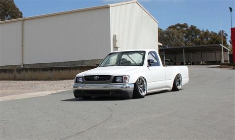 stanced trucks stanced toyota pickup www imgkid com the image kid has it