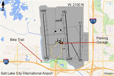 slc airport map salt lake city airport flightline aviation media planespotting guide