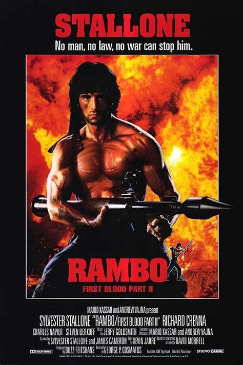 film rambo first blood image gallery for rambo first blood part ii filmaffinity