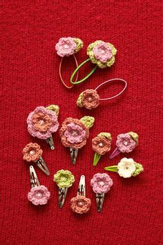 free patterns and instruction on making flower hair clips crochet hair pins crowns etc on pinterest crochet