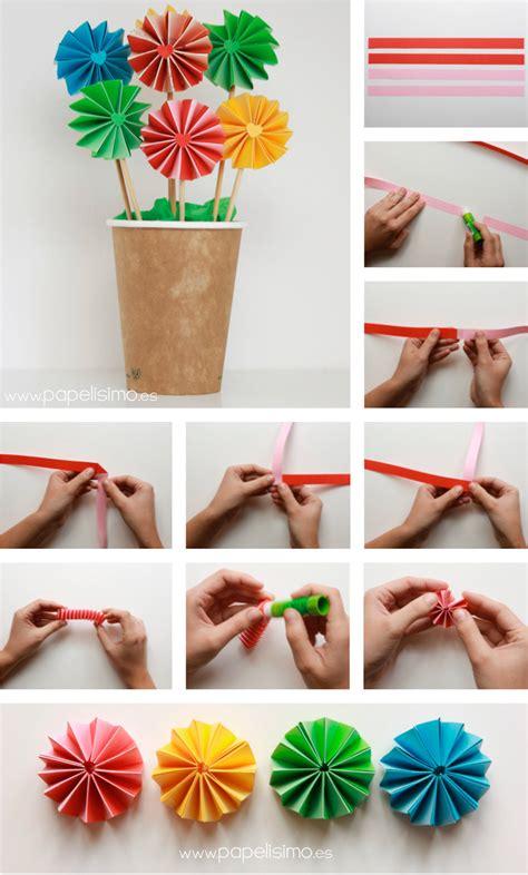 flores en papel seda paso a paso como hacer flores de papel paso a paso manualidades