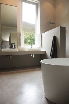 screeding a bathroom floor 1000 images about bathroom inspiration on pinterest concrete bathroom cement and