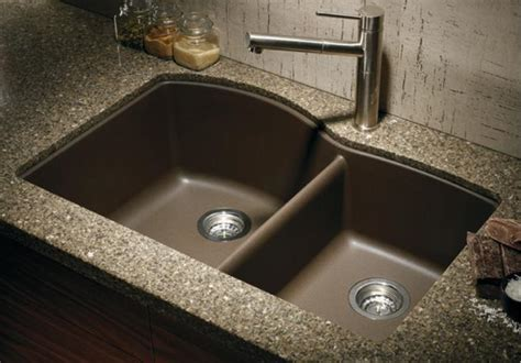Blanco Black Granite Sink by Blanco 440177 1 3 4 Bowl Silgranit Ii Undermount
