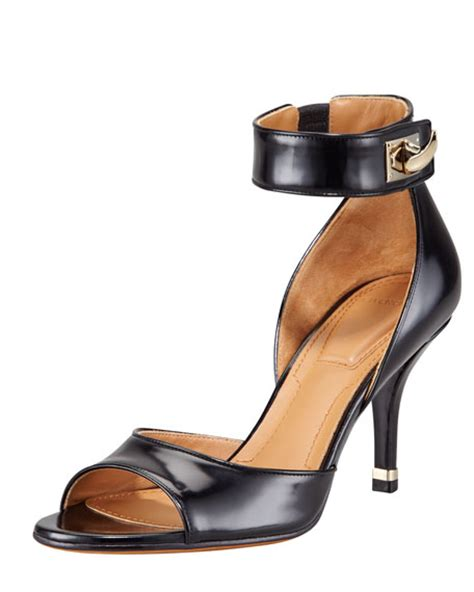 New Givenchy High Heel 3 In 1 1698 3 givenchy high heel ankle wrap shark tooth sandal
