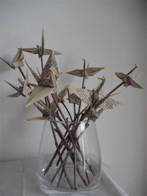 Origami Crane Centerpiece - 25 best ideas about paper cranes on origami