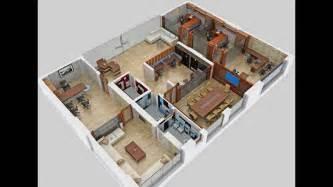 3d Office Floor Plan Floor Plan 3d Office Video Vtarc Youtube