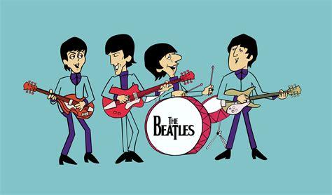 Wallpaper Cartoon Band | the beatles wallpaper the beatles wallpapers photo 19