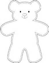 Teddy bear outline free coloring pages on masivy world