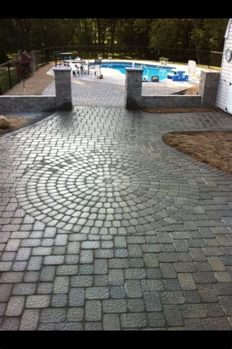 Patio Pavers Cambridge Pool Patio After Using Cambridge Pavers Cambridge