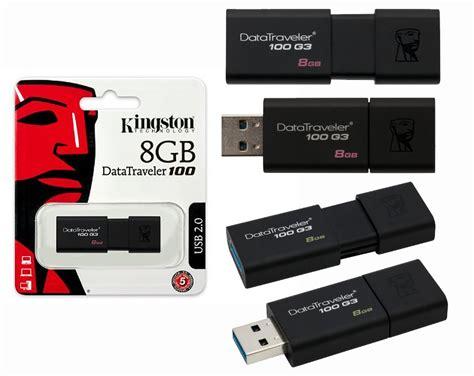 Flashdisk Kingston G3 Baru 8gb jual kingston datatraveler 100 g3 usb 3 0 8gb ardy komputer