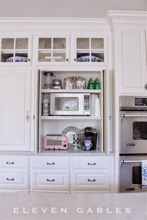 pocket doors to hide kitchen appliances a must in a dream appliance garage pocket doors and desks on pinterest