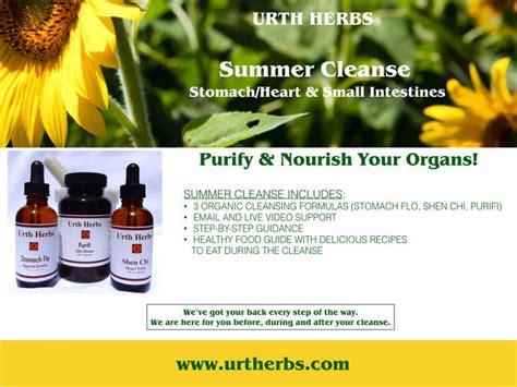 Summer Detox Pills by Summer Cleanse Urth Herbs