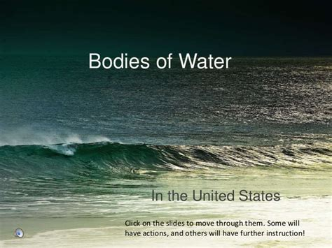 bodys of water bodies of water