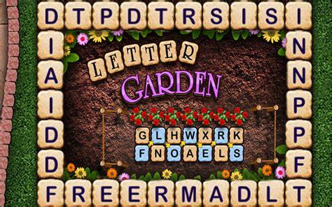 Letter Garden Arcade Thunder