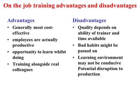 online tutorial disadvantages training development comparison ppt video online download
