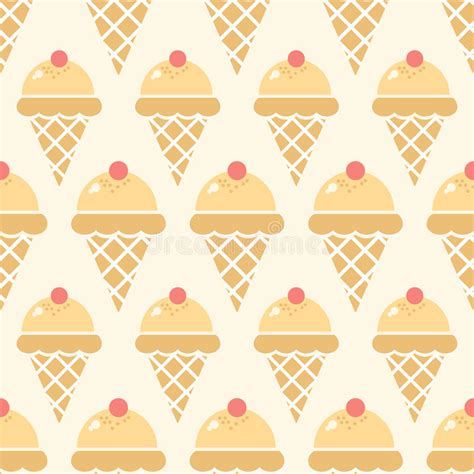 seamless pattern ice ice cream background stock vector illustration of product