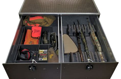 truck bed gun storage accessories for mobilestrong secure storage systems
