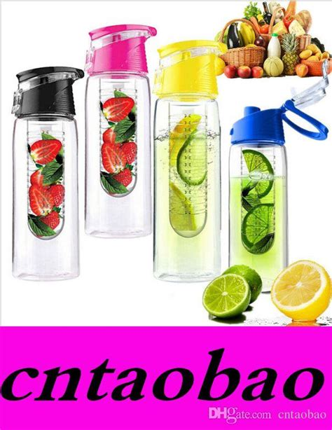 Juicer Th 868 800ml fashion flesh fruit infuser infusing water bottle