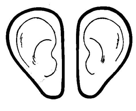 orejas de elefante para colorear cuerpo humano para colorear e imprimir