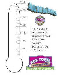 boxtops goal thermometer pto today